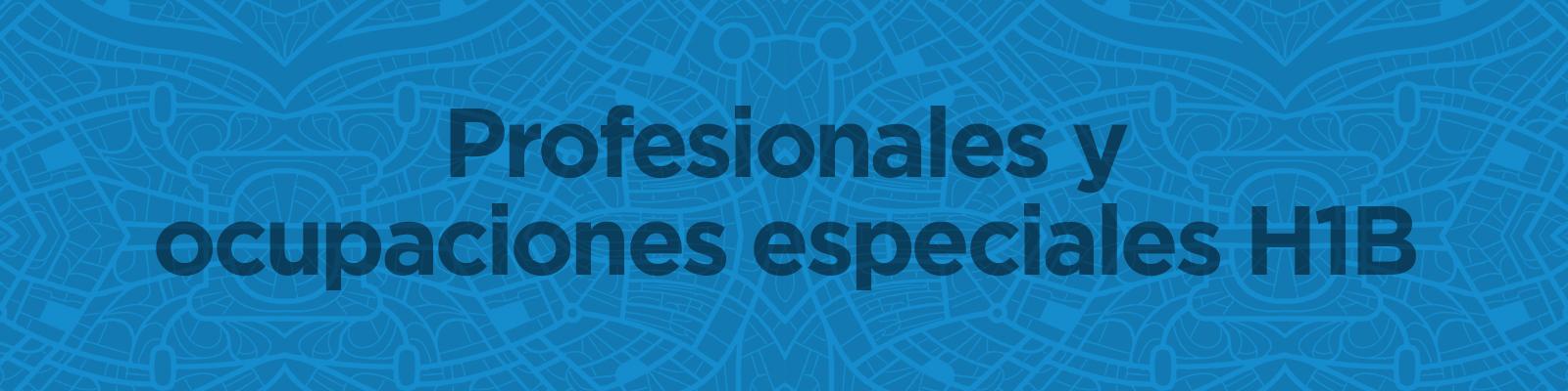 ProfesionalesyOcupaciones